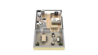 appartement B1-08 de type T4